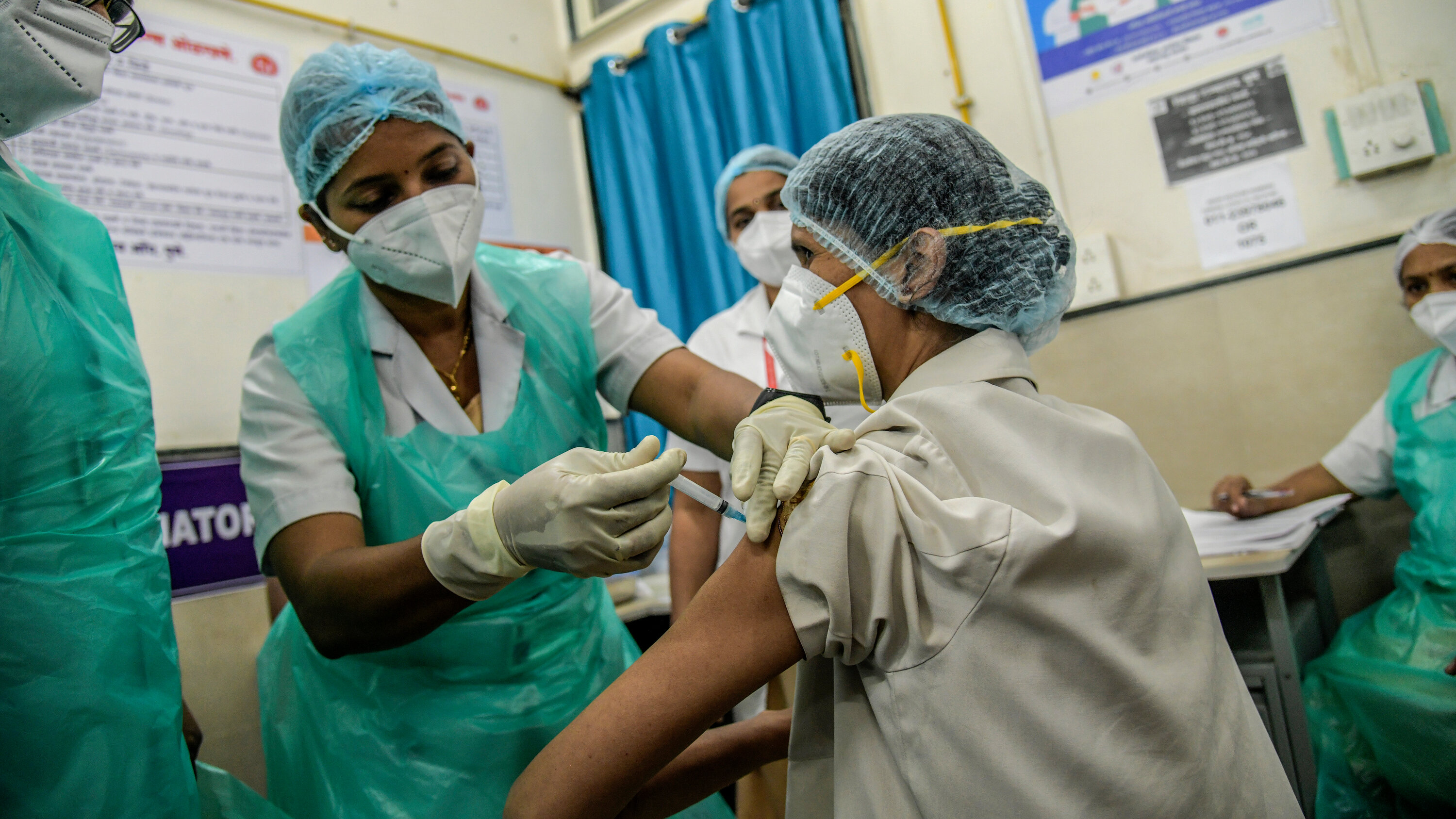 Vaccination rollout in India