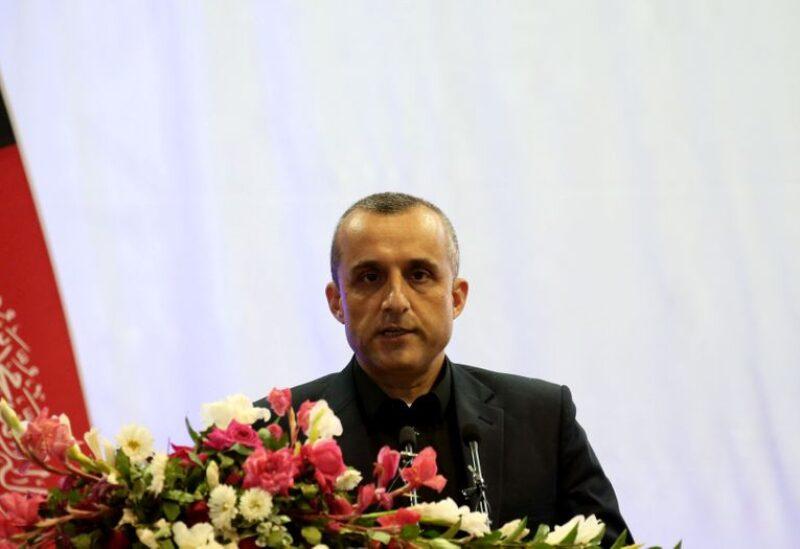 Afghan first Vice President Amrullah Saleh