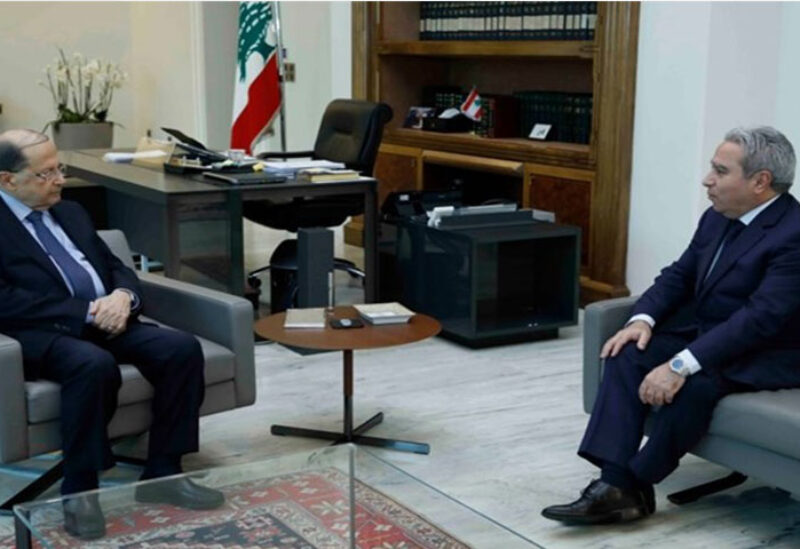 Aoun meets Musharafieh
