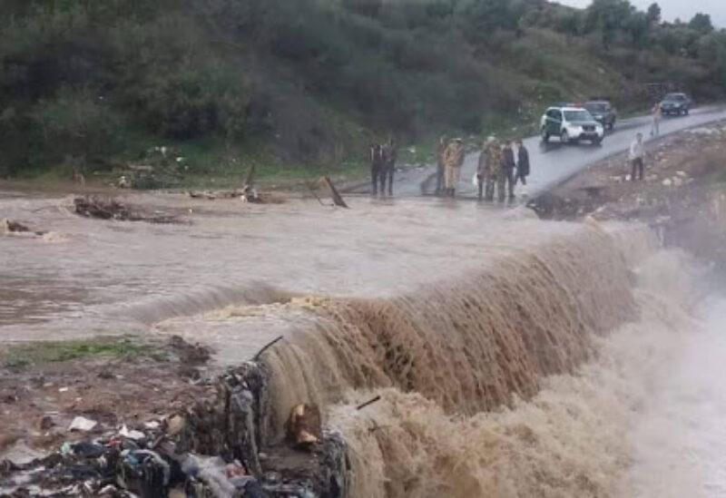 Archive photo of floods in Algeria