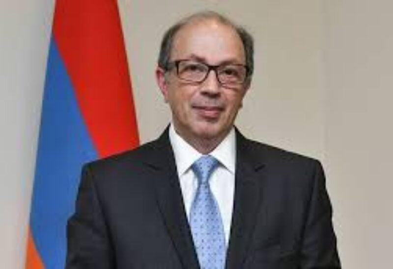 Armenia's Foreign Minister Ara Aivazian