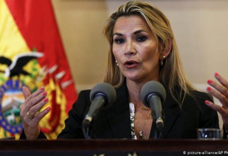 Bolivia's former interim president Jeanine Anez