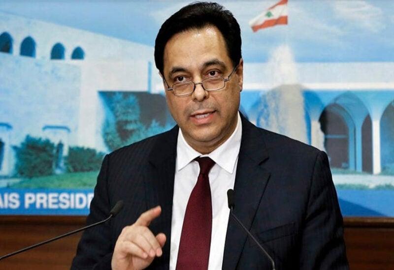 Caretaker Prime Minister Hassan Diab