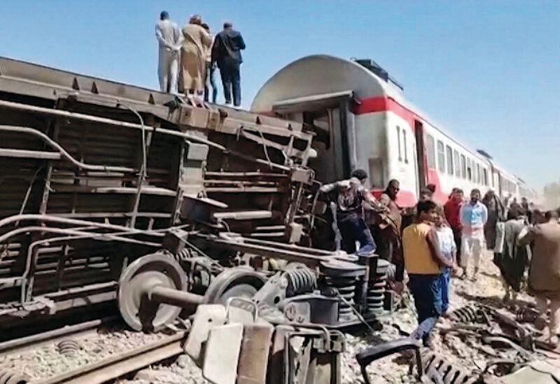 Egypt collision of two trains Archive