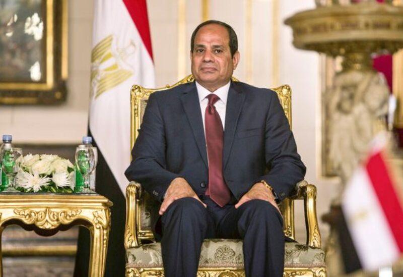 Egyptian President Abd AL Ftah AL Sisi