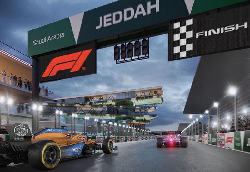 Formula 1 circuit in Jeddah