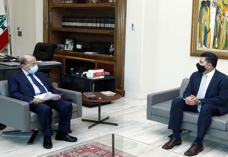Ghajar visiting Aoun