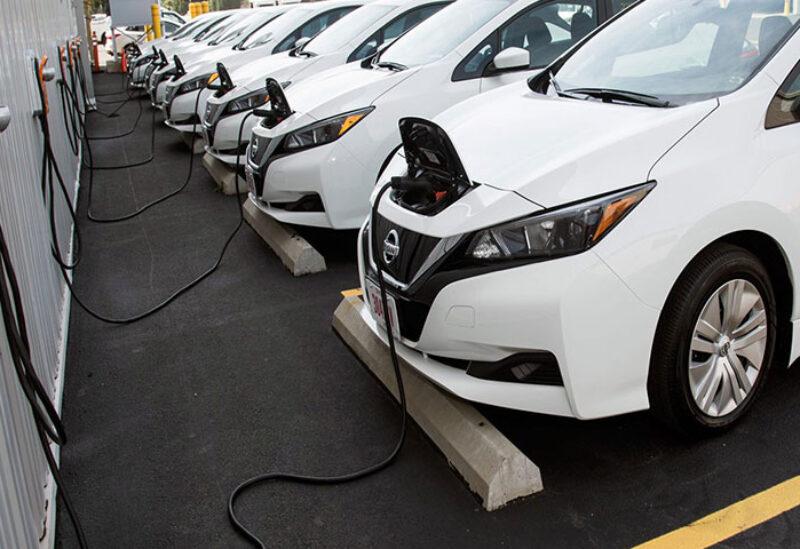 Global electric car sales