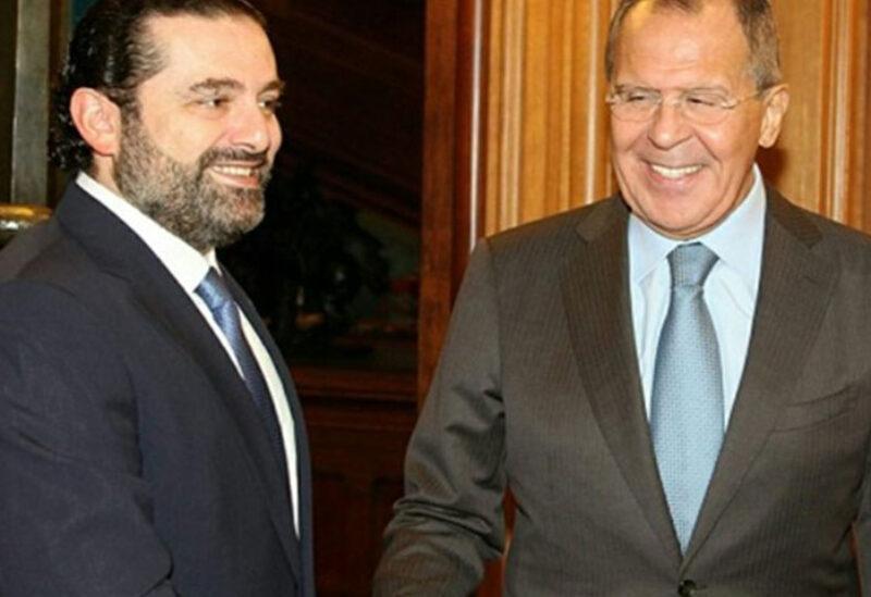 Hariri meets with Lavrov in Abu Dhabi
