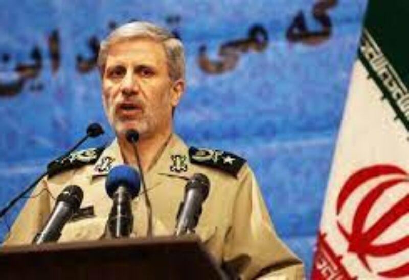 Iranian Defense Minister Amir Hatami