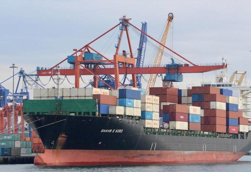 Iranian container ship 'Iran Shahr e Kord'