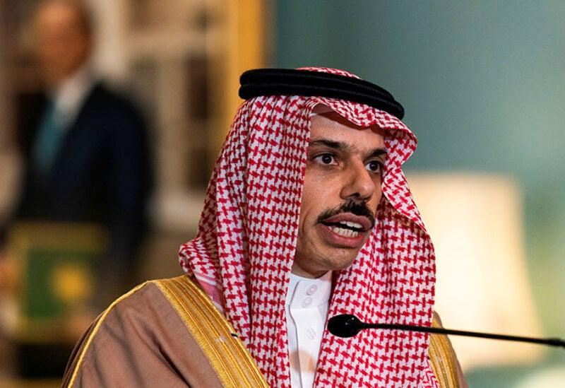 Kingdom's Minister of Foreign Affairs Prince Faisal bin Farhan