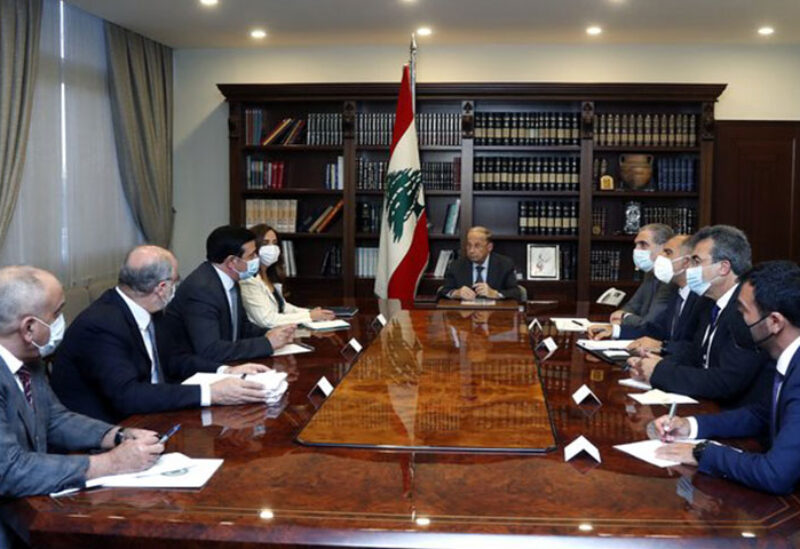 Meeting in Baabda to discuss Beirut Port Conditions