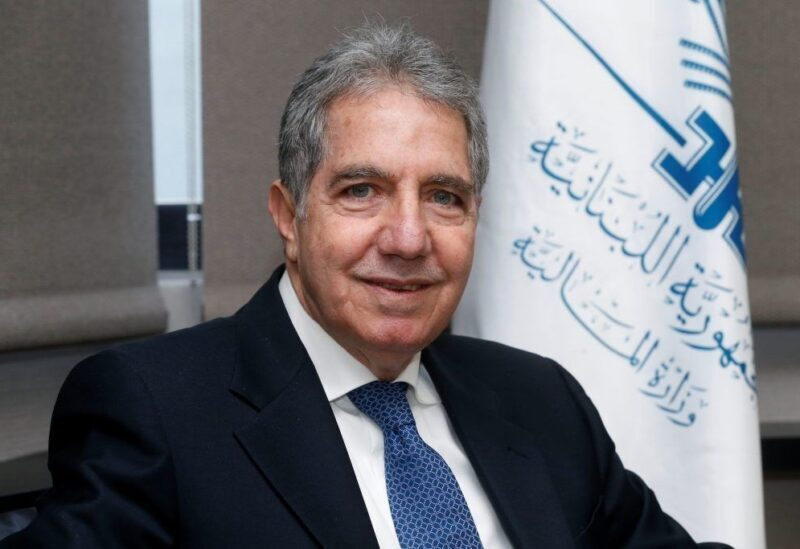 Minister of Finance in the caretaker government, Ghazi Wazni