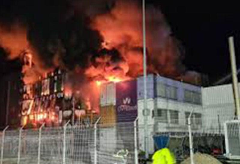 OVHcloud fire