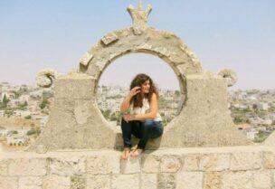 Palestinian American film director Suha Araj