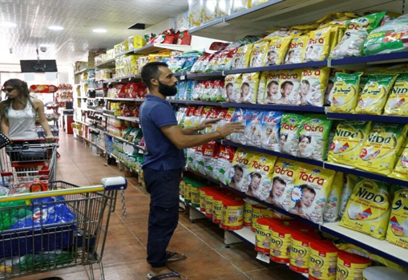 Protesters will stay in Jounieh supermarket to make sure subsidized material are not hidden