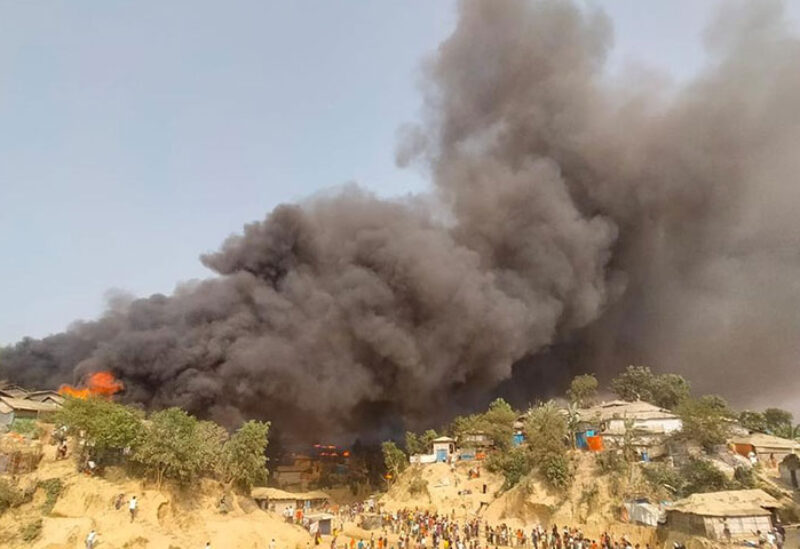 Rohingya Muslim refugee camps