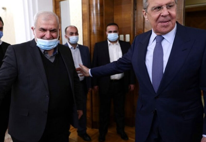 Russian FM meets a delegation from Hezbollah