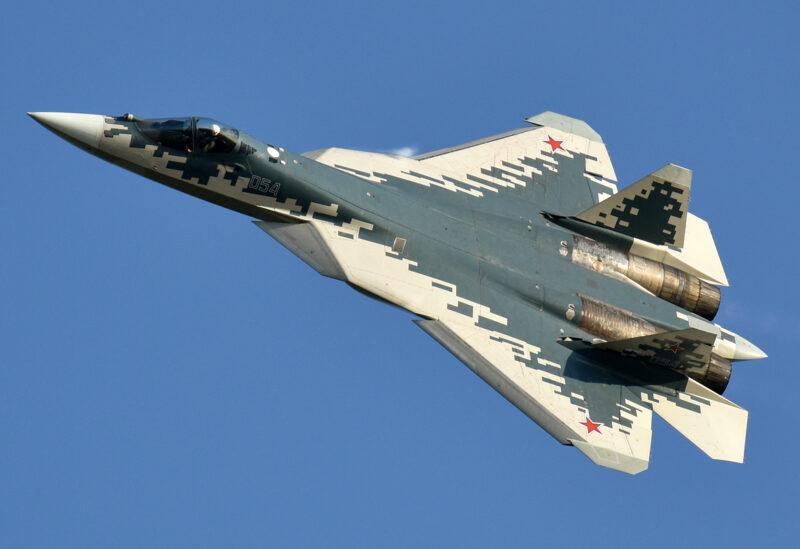 Russian Sukhoi-57_aircraft.