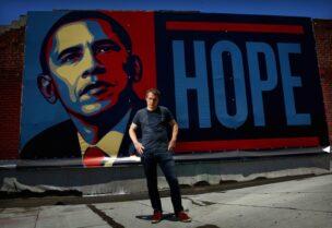US street artist Shepard Fairey