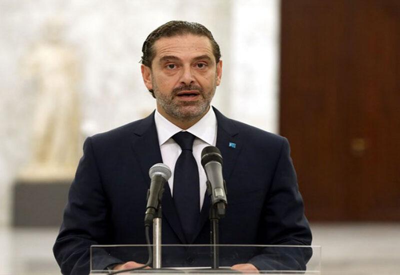 Saad Hariri after meeting Aoun