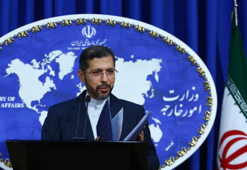 Iranian Foreign Ministry spokesman Saed Khateeb Zadeh