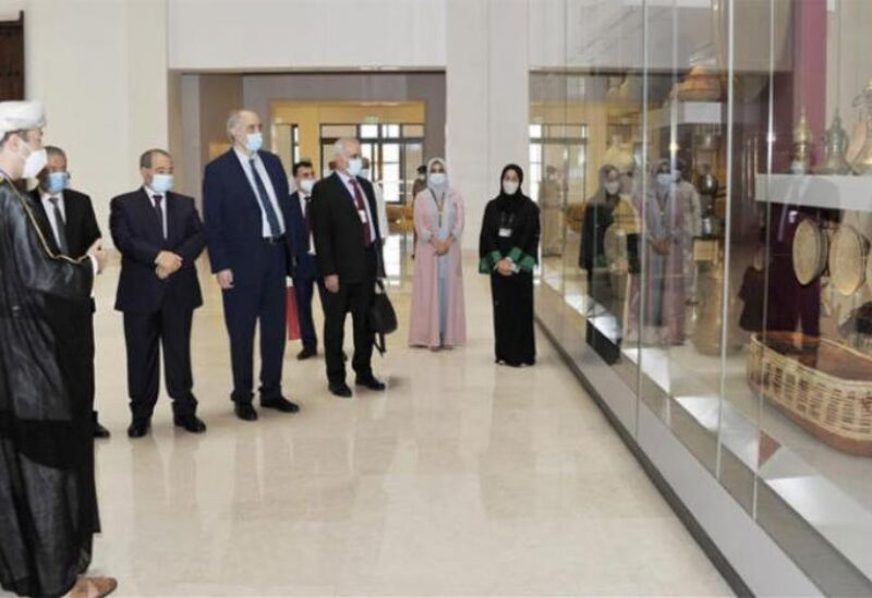 Syrian Foreign Minister Faisal Mekdad in Muscat