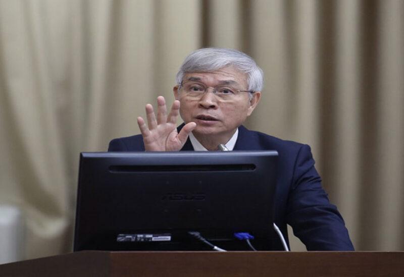 Taiwan central bank governor Yang Chin-long