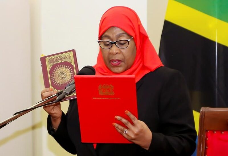 Tanzania-President Samia Solo Hassan
