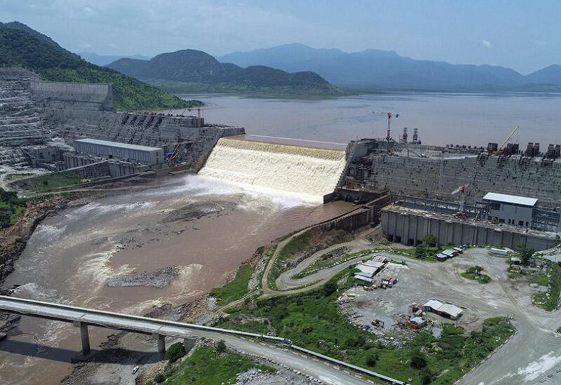 The Nile dam
