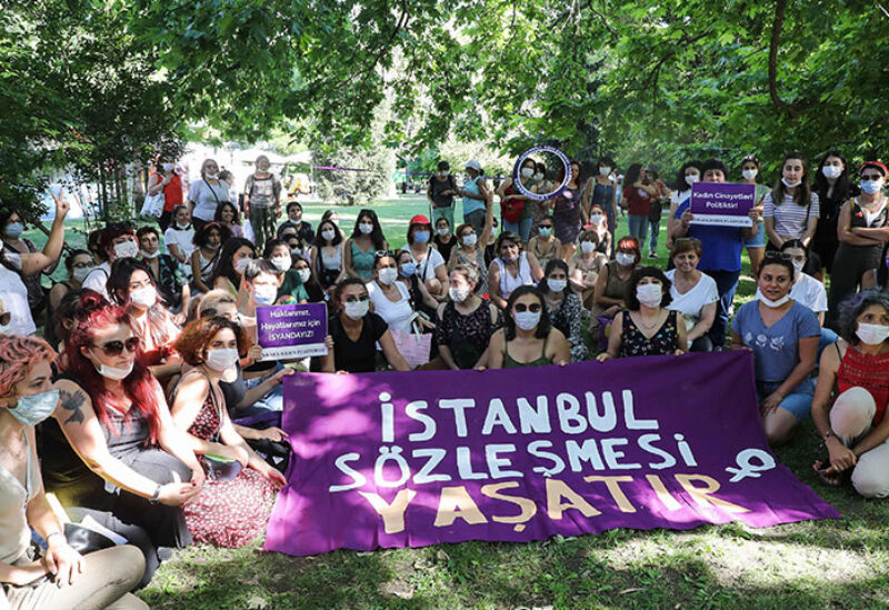 Turkey withdrew international accord