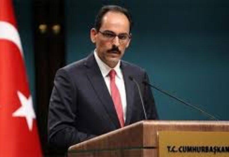 Turkey's Presidential Spokesperson İbrahim Kalın