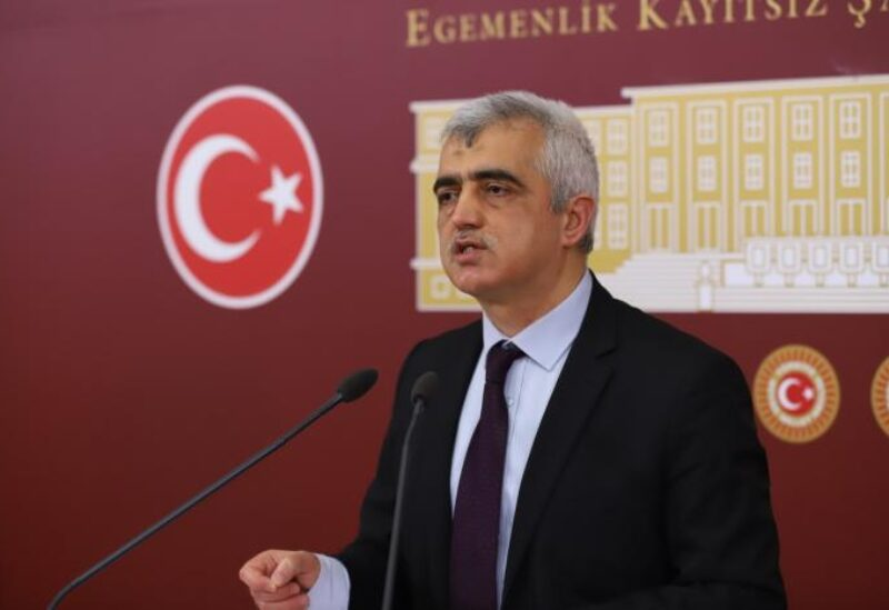 Turkish opposition deputy Omer Faruk Gergerlioglu