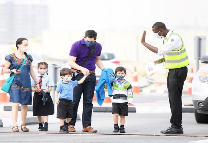 UAE schools during covid