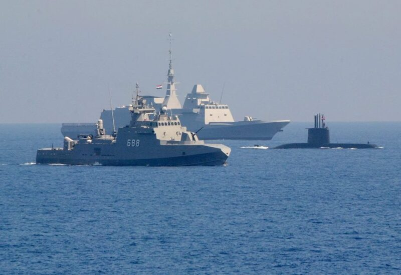 US Egypt naval exercises in the Red Sea