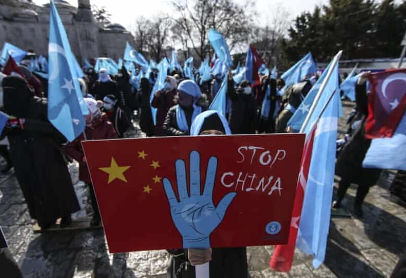 Uyghur community protest in Turkey- Archive