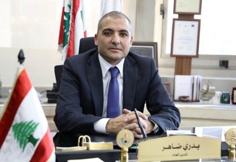 Director General of Lebanese Customs Badri Daher