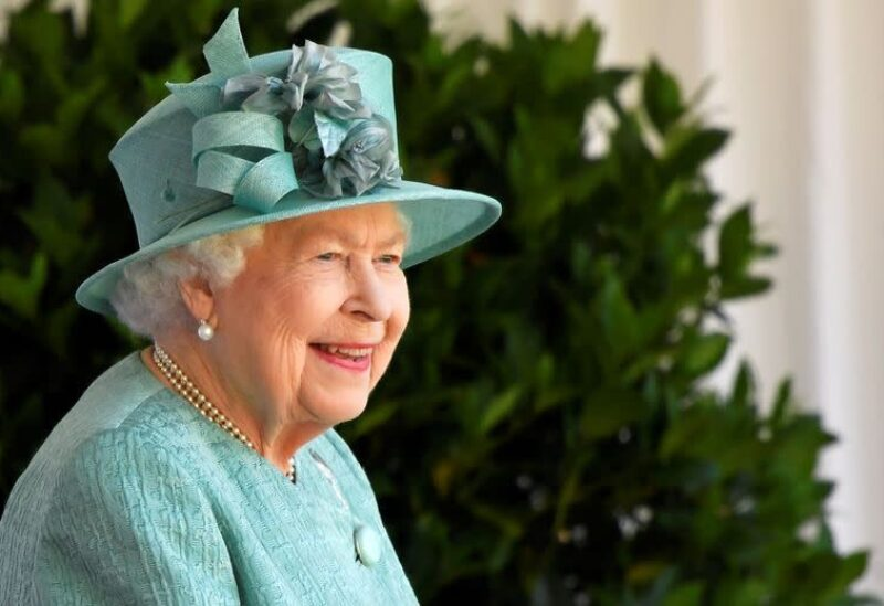 FILE PHOTO: Britain's Queen Elizabeth attends a ceremony to mark her official birthday at Windsor Castle in Windsor, Britain, June 13, 2020. The Queen celebrates her 94th birthday this year.