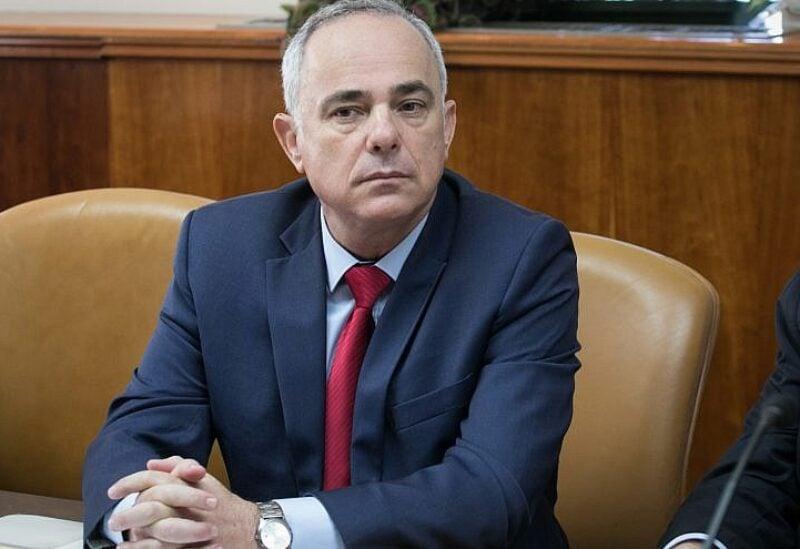Israel's Energy Minister Yuval Steinitz