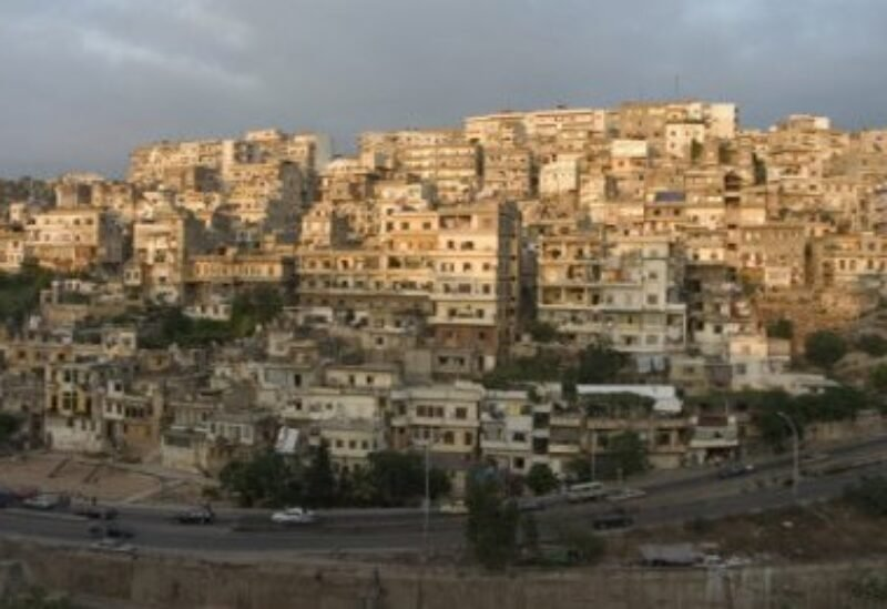 FILE PHOTO: The town of Jabal Mohsen in the northern city of Tripoli.