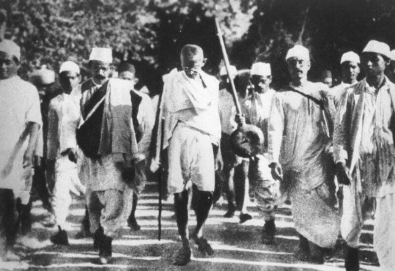 The Mahatma Gandhi