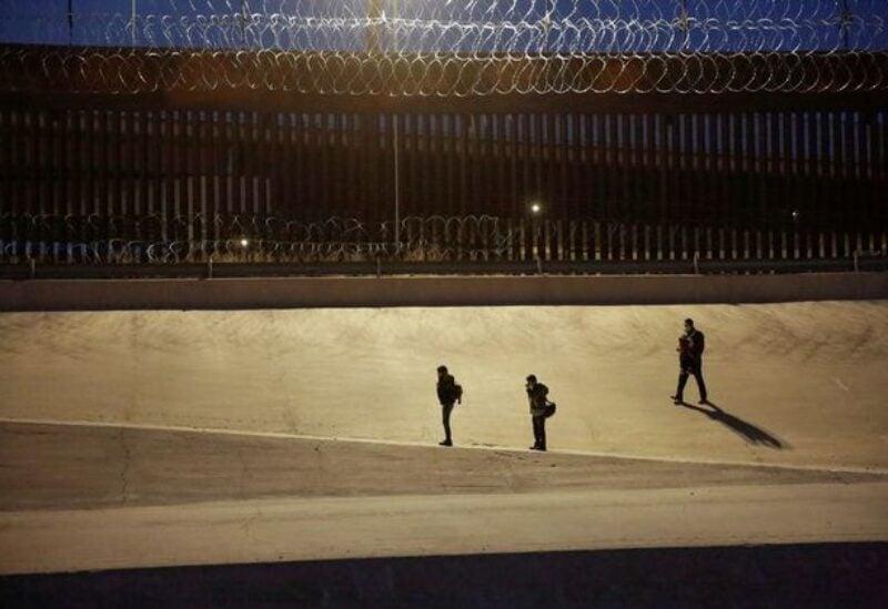Migrants at the U.S.-Mexico border