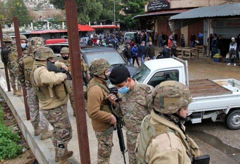 Lebanon military personnel