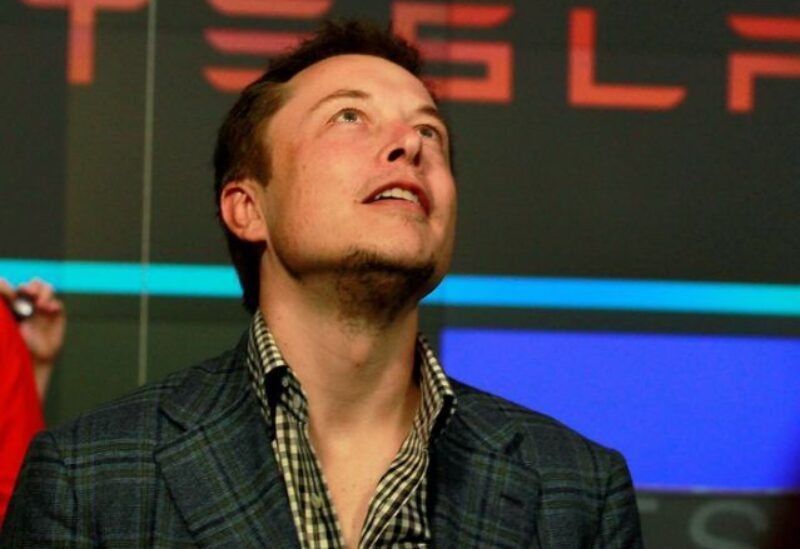 FILE PHOTO: CEO of Tesla Motors Elon Musk reacts following the company's initial public offering at the NASDAQ market in New York June 29, 2010.
