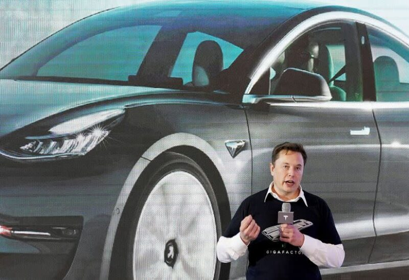 FILE PHOTO: Tesla Inc CEO Elon Musk