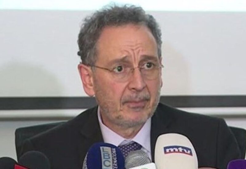 The caretaker Lebanese Minister of Economy and Trade, Raoul Nehme