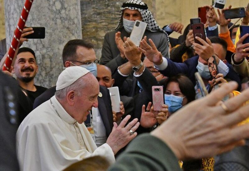 Pope's visit to Irbil Archive