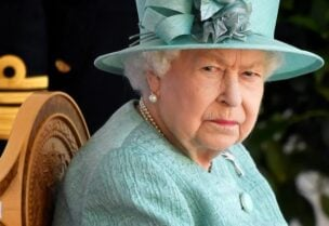 FILE PHOTO: Britain's Queen Elizabeth attends a ceremony to mark her official birthday at Windsor Castle in Windsor, Britain, June 13, 2020.