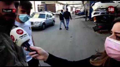 Sawt Beirut International (SBI) reporter, Sara Chehade